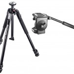 Manfrotto 190XB tripod with 128RC Video Head