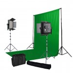 3m x 3m Green Screen with Stand